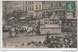 MICAREME 1908Char du Marché des Carmes (La Ruche).: Carte Postale