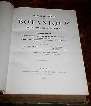 Traité général de botanique descriptive et analytique.: LE MAOUT (Emm.) & ...