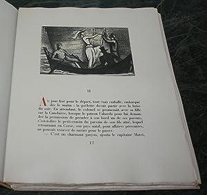Colomba. Illustrations de Charles Picart Le Doux gravées sur bois par Gérard ...