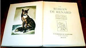 Le roman de Renard version moderne de HENRI LEDUC orné d'illustrations en couleurs par ...