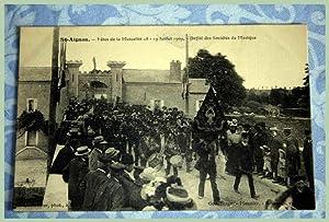 SAINT AIGNAN SUR CHER Fêtes de la Mutualité le 1819 Juillet 1909: Carte Postale