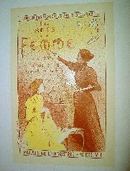 Maitres de l'Affiche Les Arts de la Femme. Maitres de l'Affiche, 1895,: MOREAU NELATON