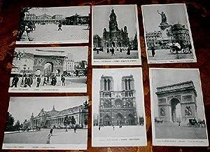 Collection Petit journal. Paris. Lot de 7: Carte Postale Ancienne