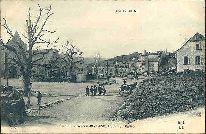 L'AUVERGNE. Cantal - 148 - CHEYLADE, Place de l'Eglise.: Carte Postale Ancienne - 63 - ...