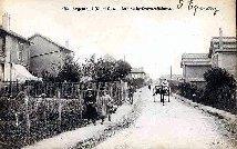 Argenteuil (S.et.O). Rue de la grande ceinture. (barré et remplacé par: Carte Postale