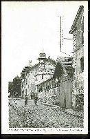 12 - SAINT LEU-LA-FORET (S et O). Rue du château et Source Mery.: Carte Postale Ancienne - 95...