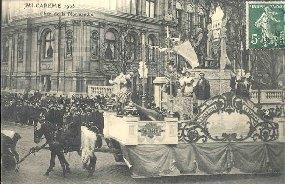 MICAREME 1908Char du Normandie.: Carte Postale