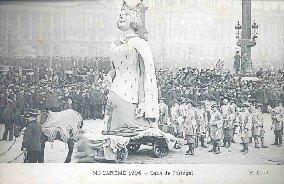 MI-CAREME 1906 - gens de Portugal.: Carte Postale Ancienne - 75 - PARIS - EVENEMENTS