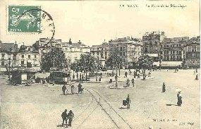 LE MANSLa place de la République.: Carte Postale