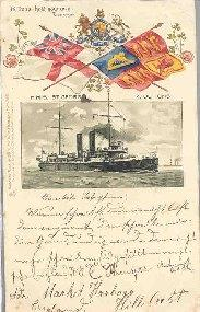 BRITONS HOLD YOUR OWN ! Tennyson. H.M.S: Carte Postale Ancienne