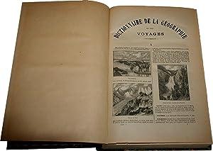 Dictionnaire Universel illustré de la géographie et des voyages par une: HUARD (...