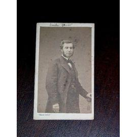 Photographie XIX ème format carte de visite (CDV), représentant Né à ...
