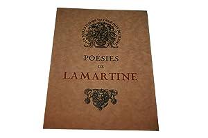 POESIES DE LAMARTINE.: LAMARTINE (Alphonse