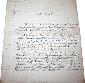 Lettre Autographe Signée à entête du 94ème Régiment d'...