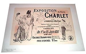 Maitres de l'Affiche EXPOSITION des Oeuvres de: WILLETTE (A.)