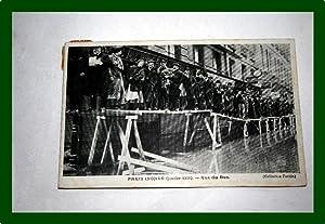 PARIS INONDE (Janvier 1910). Rue du Bac.: Carte Postale Ancienne