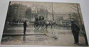 CRUE DE LA SEINE- 2- PARIS -: Carte Postale Ancienne