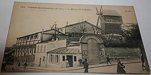 769ParisMontmartre. Le Moulin de la Galette.: Carte Postale