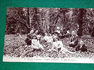 8-Paris-jardins-La Cité Coopérative-Allée des Acacias.: Carte Postale Ancienne