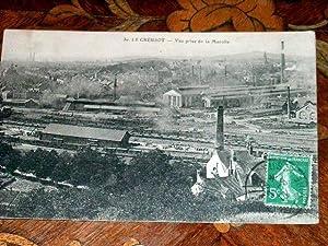 30LE CREUSOTVue prise de la Marolle.: Carte Postale