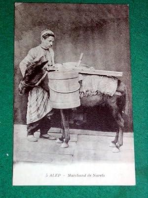 5 - ALEP - Marchand de Navets.: Carte Postale Ancienne - ORIENT.