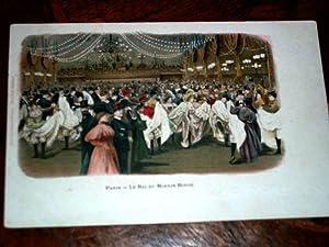 PARIS - Le Bal du Moulin-Rouge.: Carte Postale Ancienne