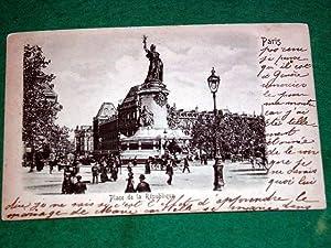 Carte Postale Ancienne - Place de la: Carte Postale Ancienne