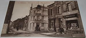 3Aulnoye _ Place de la Gare. Rue Gambetta.: Carte Postale