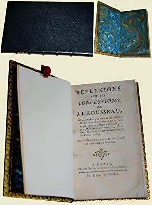 Réflexions sur les Confessions de J.J. Rousseau.: SERVAN (M.).