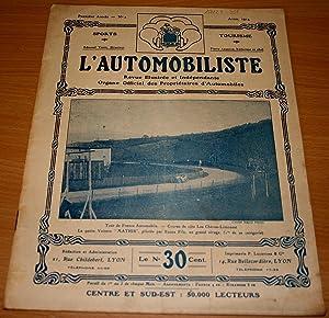 L'AUTOMOBILISTE. Revue illustrée et Indépendante. Organe Officiel des: VESIN