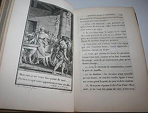 LE NOUVEAU TESTAMENT AVEC LES ACTES DES APOTRES; TRADUITS EN FRANCAIS PAR . Orné de 112 ...