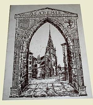 Chroniques du pays beaujolais - Bulletin 1970: Académie de Villefranche-en-Beaujolais