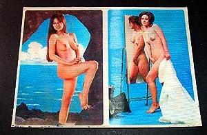 NU - CARTE POSTALE EN COULEUR - TOPPAN TOP STEREO - NUDE DUET A - Deux femme en petites tenues ...