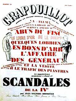 Le Crapouillot, n° 281955. Numéros spécial: Scandales: LE CRAPOUILLOT.