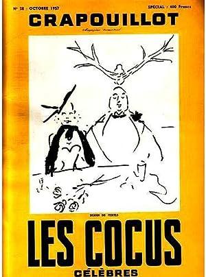 LE CRAPOUILLOT N°38- Octobre 1957. Les cocus célèbres.: LE CRAPOUILLOT.