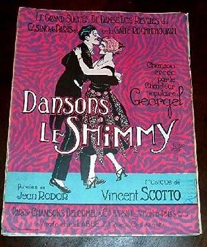 DANSONS LE SHIMMY - Chanson créée par: PARTITION - RODOR