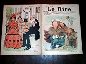 LE RIRE - N°220 - 21 janvier 1899 - illustration en couleurs de la couverture DON CARLOS par ...