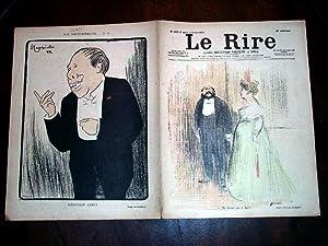 LE RIREN°2224 février 1899illustration en couleurs dela: COLLECTIFLE RIRE