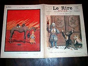 LE RIRE - N°15 - 27 février 1915 - illustration en couleurs de la couverture - Rouge - ...