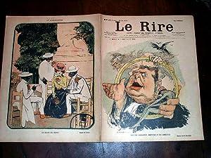 LE RIREN°24912 août 1899 illustration en couleurs dela: COLLECTIFLE RIRE