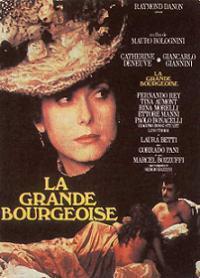 La Grande bourgeoise. - Réalisateur : Mauro: AFFICHE DE CINEMA