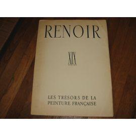 "RENOIR. Coll. ""Les Trésors de la Peinture: BAZIN (Germain)."