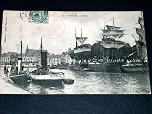 VANNESLe port.: Carte Postale