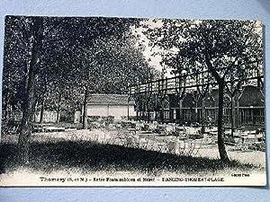 Thomery - Entre Fontainbleau et Moret - Dancing-Thomery-Plage.: Carte Postale Ancienne - 77 - ...
