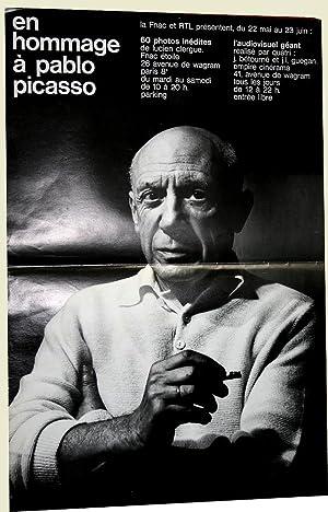 Affiche En Hommage à Pablo PICASSO.: PICASSO AFFICHE
