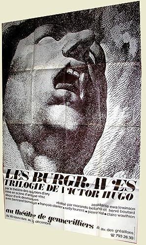 Affiche Théâtre de Gennvilliers - Les BURGRAVES Trilogie de Victor HUGO: THEATRE