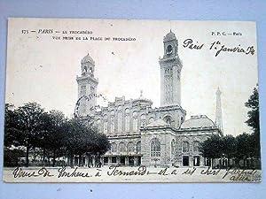 375 - PARIS - LE TROCADERO - Vue prise de la Place du Trocadéro.: Carte Postale Ancienne - 75 - ...