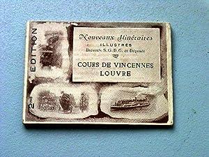 Nouveaux Itinéraire illustrées - OMNIBUS T. F. Louvre - Cours de Vincennes: OMNIBUS