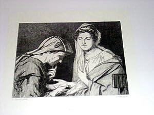 Eauforte. ReprésentantBohémienne et Romaine d'après Louis DAVID en: DAVID...