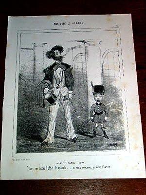 Lithographie début XIX ème CHAMNos Gentils Hommes : Prenez y garde: CHAM (pseudo ...